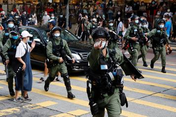 Cinq militants prodémocratie de HongKong demandent l'asile aux États-Unis)