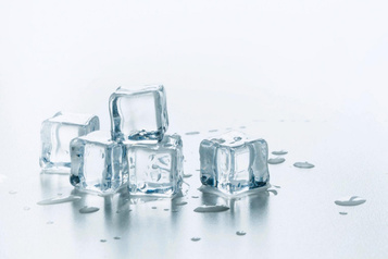 Le défi delaglace transparente