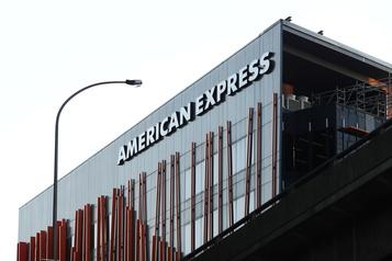 La baisse des dépenses des clients affecte American Express )