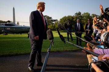 Trump dit «espérer» que son appel avec le président ukrainien soit publié