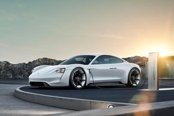 La Porsche Taycan sera officiellement dévoilée le 4septembre