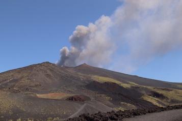 Regain d'activité de l'Etna)