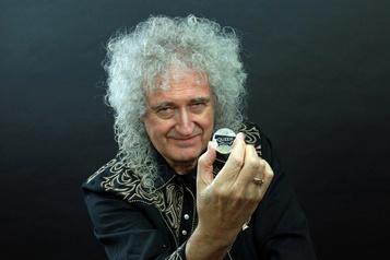 Queen honoré par une pièce de la monnaie royale