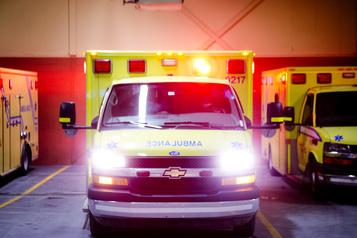 Blessé grave dans une collision à Lachute