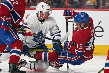 Maple Leafs 3 - Canadien 0 (marque finale)
