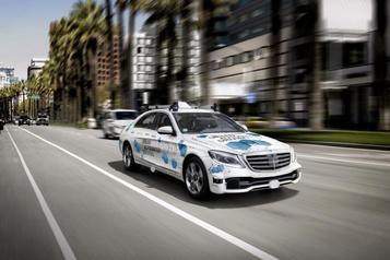Un service de limousine automatisé pour Mercedes-Benz?