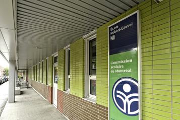 Élèves admis désinscrits L'école Robert-Gravel est un cas d'exception, dit le CSSDM)
