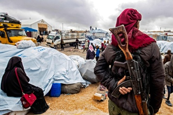 Syrie Au moins 31meurtres dans le camp d'Al-Hol depuis début2021)