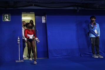 Gymnastique Simone Biles remplacée durant le concours général par équipes)