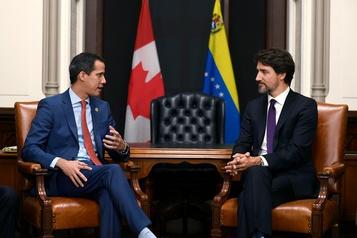 Venezuela: Juan Guaidó a rencontré Justin Trudeau