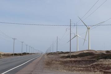 Les Îles aimeraient doubler leur production éolienne