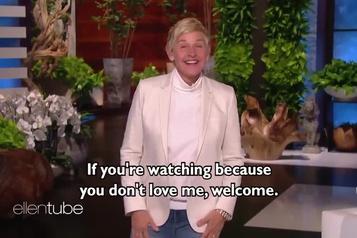 Ellen DeGeneres affronte la controverse)