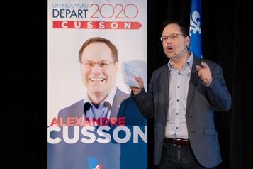 Direction du PLQ: Alexandre Cusson songe à nationaliser l'eau