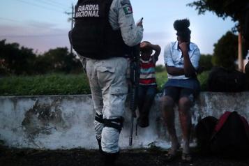 Guatemala La police découvre 126migrants dans un conteneur