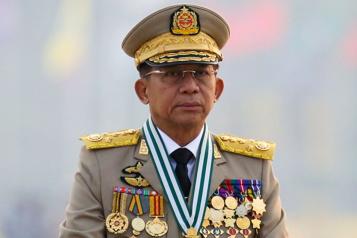 Birmanie Nouvelles sanctions de l'UE contre la junte)
