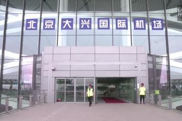 Visite du nouvel aéroport de Pékin