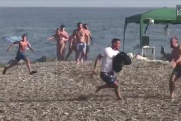 Des baigneurs arrêtent un narcotrafiquant en Espagne)