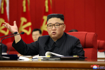 Corée du Nord Kim Jong-un reconnaît une «situation alimentaire tendue»)