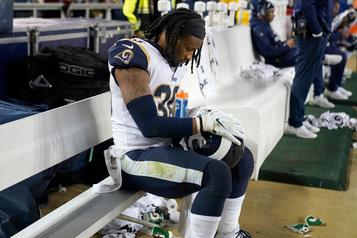 Les Rams libèrent le demi Todd Gurley, plusieurs mouvements dans la NFL
