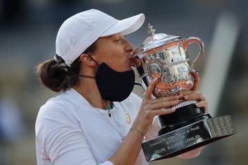 Les jeunes s'imposent au sein du tennis féminin)