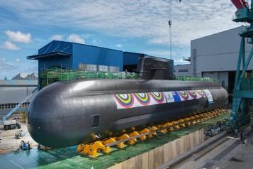 La Corée du Sud dévoile un nouveau sous-marin lanceur de missiles)