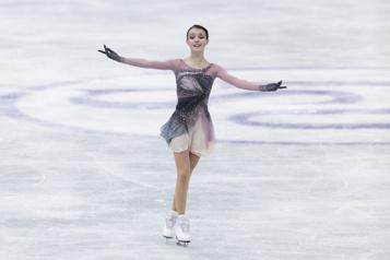 Trophée des nations La patineuse Anna Shcherbakova l'emporte au programme libre )