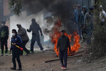 Bolivie: l'armée va intervenir pour arrêter les violences