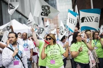 Santé et services sociaux La FSSS met fin à sa grève, l'APTS déclenche la sienne)