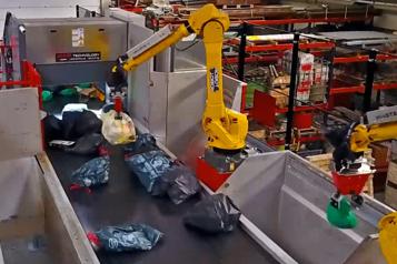 Intelligence artificielle  Waste Robotics: des robots trieurs de déchets)