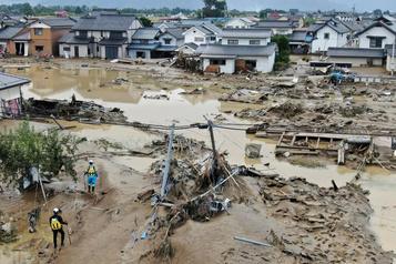 Typhon Hagibis: le bilan grimpe à 58morts au Japon