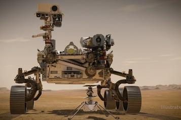 Un hélicoptère sur Mars)