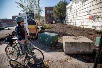 Rosemont: des citoyens s'inquiètent pour l'avenir d'un terrain vague