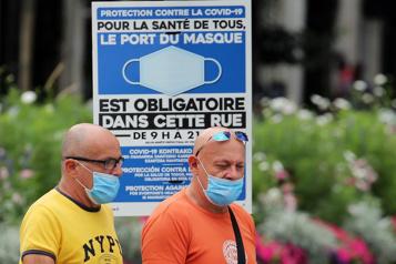 Nouvelles restrictions sanitaires La France«désormais presque entièrement rouge»)