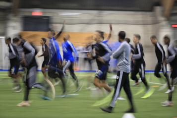 Le CF Montréal amorcera son camp d'entraînement lundi)
