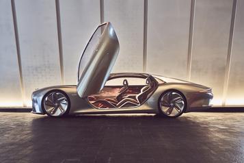 Bentley Bentley passera au tout électrique dès 2030)