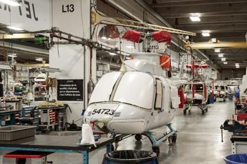 Hélicoptères Airbus «surpris» par la décision deQuébec)