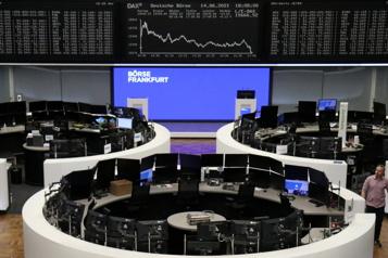 Les Bourses européennes terminent sur une note optimiste)