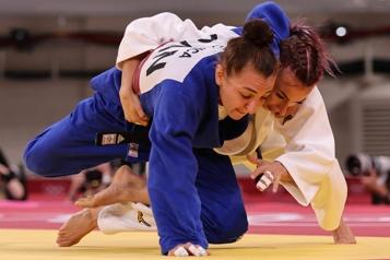 Judo Ecaterina Guica battue à son premier combat)