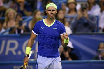 Rafael Nadal remporte son premier match depuis sa défaite à Roland-Garros)