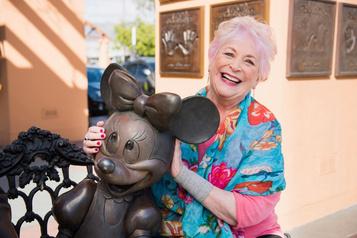 La voix de Minnie Mouse s'éteint