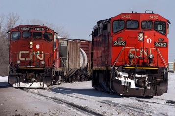 CN: des dizaines de postes expédiés à Edmonton