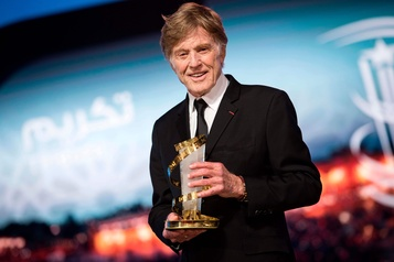 Ovation pour Robert Redford au Festival du film de Marrakech