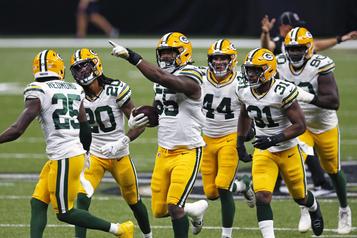 Les Packers ont raison des Saintsdans un match offensif)