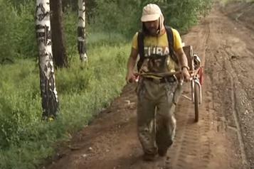 Fin du périple pour un chamane sibérien en route pour bannir le «démon» Poutine