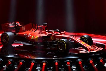 Ferrari présente sa nouvelle monoplace