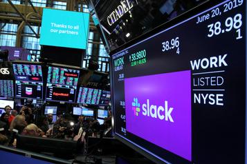Le géant informatique Salesforce achète Slack pour 27,7milliards de dollars)