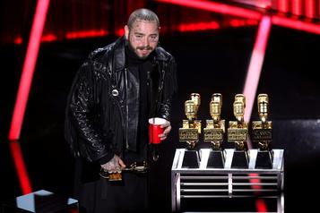 Post Malone, artiste de l'année selon Billboard)