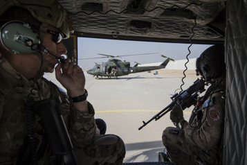 Les Canadiens ont appuyé une attaque irako-américaine contre Daech)