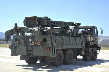 Turquie Erdogan confirme un essai de missiles russes)