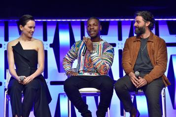 Star Wars: ça semble être la fin pour Rey, Finn etPoe